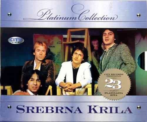 CD SREBRNA KRILA PLATINUM COLLECTION 2008 23 PLATINASTA HITA vlado kalember exyu