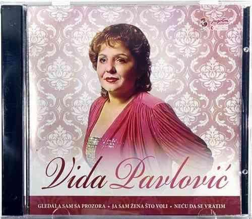 CD VIDA PAVLOVIC compilation 2014 GLEDALA SAM SA PROZORA JA SAM ZENA STO VOLI