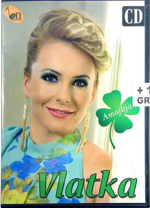 CD VLATKA KARANOVIC AMAJLIJA album 2015 bn music narodna djurdjevdan magnet bajk