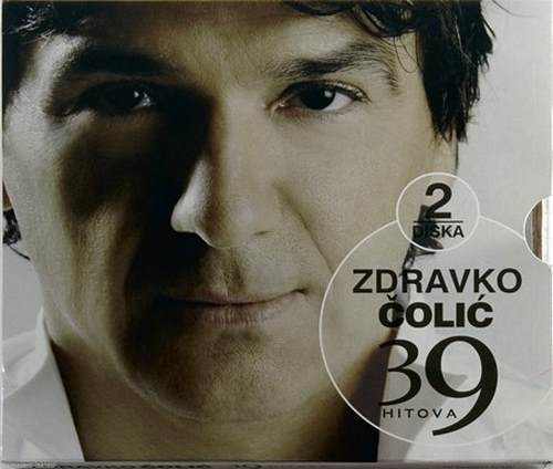 2CD ZDRAVKO COLIC 39 HITOVA compilation 2008 PGP RTRS Serbia Bosnia Croatia pop