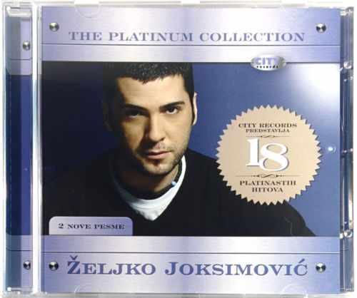 CD ZELJKO JOKSIMOVIC  THE PLATINUM COLLECTION compilation 2007 serbia croatia