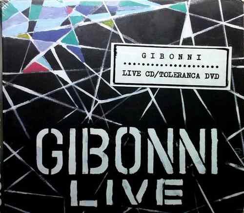 CD+DVD GIBONNI  LIVE CD  TOLERANCA DVD 2013 Pop Croatia, Serbia, Bosnia Dallas