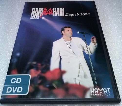 CD+DVD HARI MATA HARI KONCERT U ZAGREBU 2008 Serbian, Bosnian, Croatian, Serbia