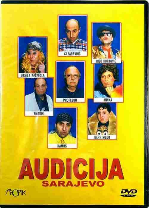 DVD AUDICIJA SARAJEVO 2007 profesor amadin hamus minka usnila rezepova kurtovic