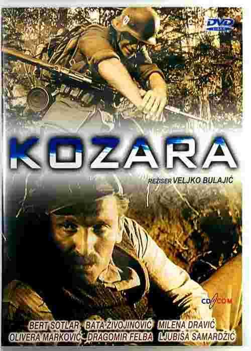 DVD KOZARA film Veljko Bulajic Bata Zivojinovic Milena Dravic Olivera Markovic