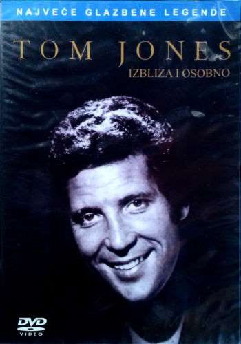 DVD TOM JONES  IZBLIZA I OSOBNO up close and personal 2008 Serbia, Bosnia