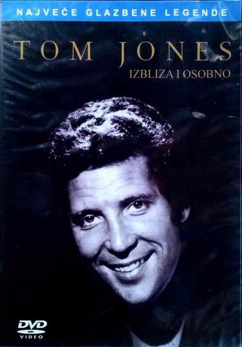 DVD TOM JONES  IZBLIZA I OSOBNO up close and personal 2008 Serbia, Bosnia