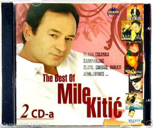 2CD MILE KITIC THE BEST OF 2007 plava ciganka sampanjac zlato srebro dukati