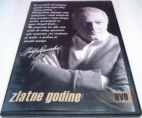 DVD ZELJKO SAMARDZIC  ZLATNE GODINE 2008 Serbian Bosnian Croatian music