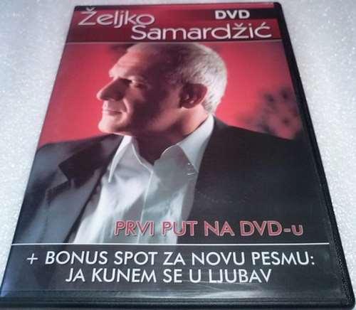 DVD ZELJKO SAMARDZIC JA KUNEM SE U LJUBAV 2008  Srbija, Bosna, Hrvatska top