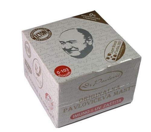 Original Pavlovic Ointment IMMUNO & UV PROTECTION ORIGINAL PAVLOVICA MAST serbia