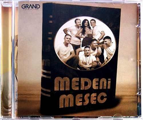 CD MEDENI MESEC Album 2016 grand production folk srbija Zacarana kafana hrvatska