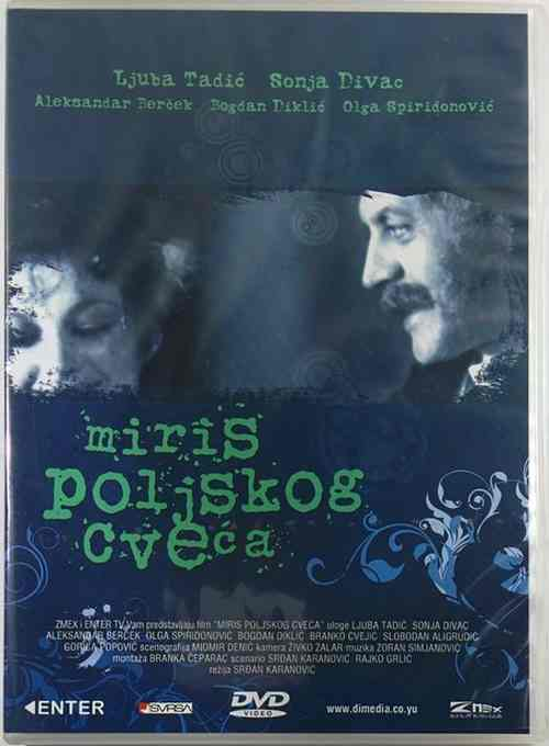 DVD MIRIS POLJSKOG CVECA film 1977 Ljuba Tadic Sonja Divac Bercek