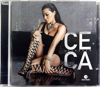 CD CECA AUTOGRAM ALBUM 2016 city records serbia croatia montenegro slovenia folk