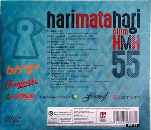 CD HARI MATA HARI CILIM album 2016 MPBHRT novo new varesanovic bosna ?ilim pop
