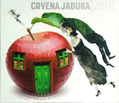 2CD CRVENA JABUKA album 2016 Zlatan Fazlic sarajevo zera pop bosna novi album