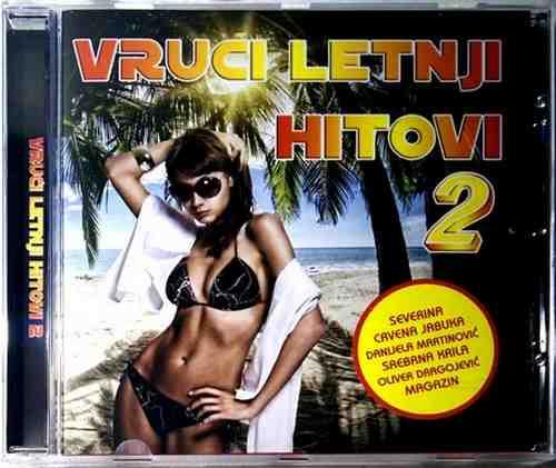 CD VRUCI LETNJI HITOVI 2 compilation 2016 zabavna croatia records jugoton gold