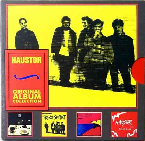 4CD HAUSTOR ORIGINAL ALBUM COLLECTION treci svijet bolero tajni grad jugoslavija
