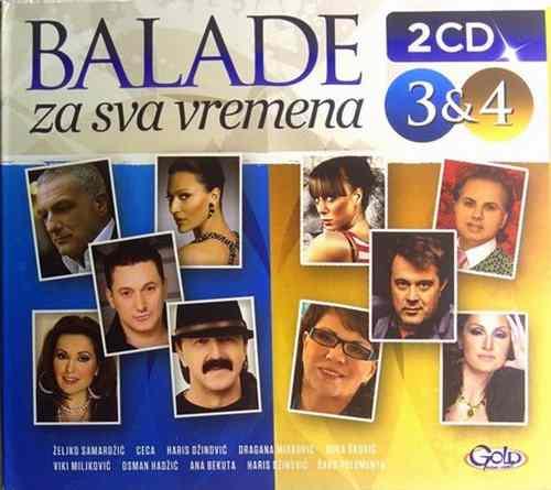 2CD BALADE ZA SVA VREMENA 3i4 compilation 2016 mira skoric ceca begovic hadzic