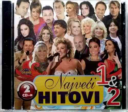 2CD NAJVECI HITOVI 1&2 compilation 2014 Grand Production Srbija Bosna, Hrvatska