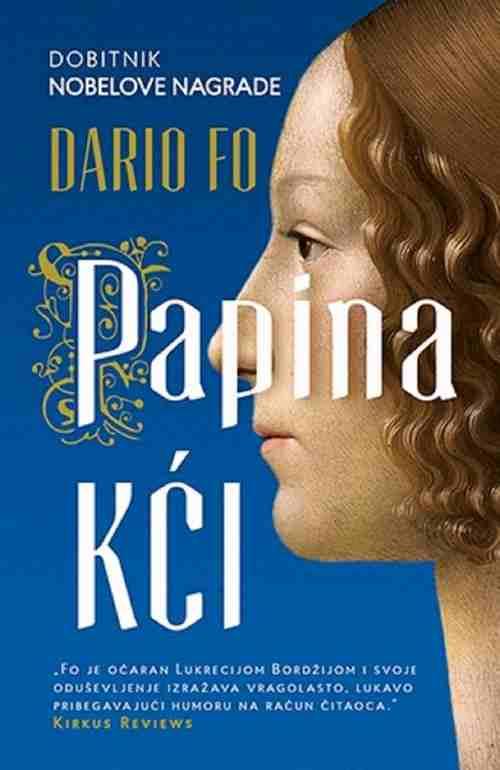Papina kci Dario Fo knjiga 2016 Lukrecija Bordžija istorijski roman laguna papa