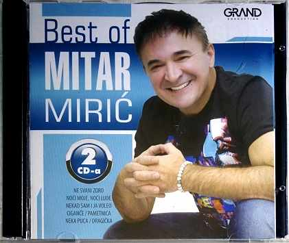 2CD BEST OF MITAR MIRIC compilation 2016 ne svani zoro cigance pametnica narodna