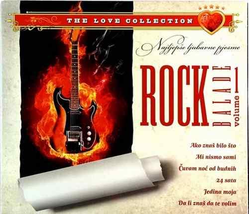 CD ROCK BALADE THE LOVE COLECTION VOL 1 jedina moja ljubavne pesme hrvatska 2011