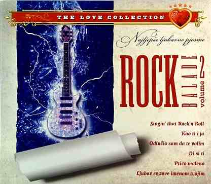 CD ROCK BALADE THE LOVE COLECTION VOL 2 ptico malen ljubavne pesme hrvatska 2011