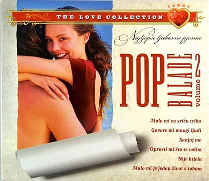 CD POP BALADE THE LOVE COLECTION VOL 2 sanjaj me ljubavne pesme hrvatska 2011