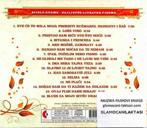 CD BIJELO DUGME THE LOVE COLECTION ima neka tajna veza bitanga i princeza 2011