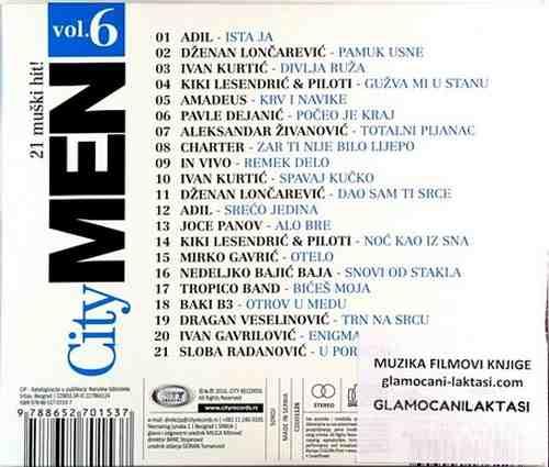 CD CITY MEN 6 compilation 2016 charter leo charter veselinovic loncarevic adil