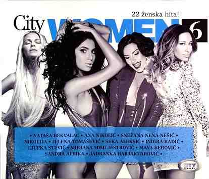 CD CITY WOMEN 6 compilation 2016 bekvalac nikolic tomasevic aleksic berovic nena