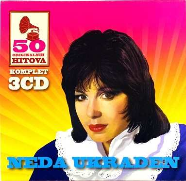 3CD NEDA UKRADEN 50 ORIGINALNIH HITOVA digipak compilation 2016 gold audio video