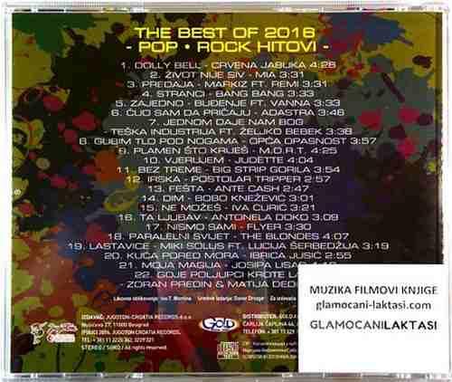 CD THE BEST OF 2016 POP ROCK compilation 2016 bebek opca opasnost flyer mort