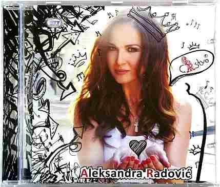 CD ALEKSANDRA RADOVIC cARstvo album 2016 city records srbija pop muzika radovic