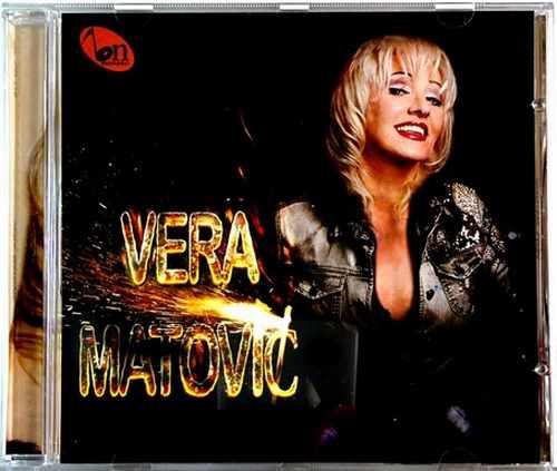 CD VERA MATOVIC album 2016 novo narodna muzika republika srpska bijeljina bn