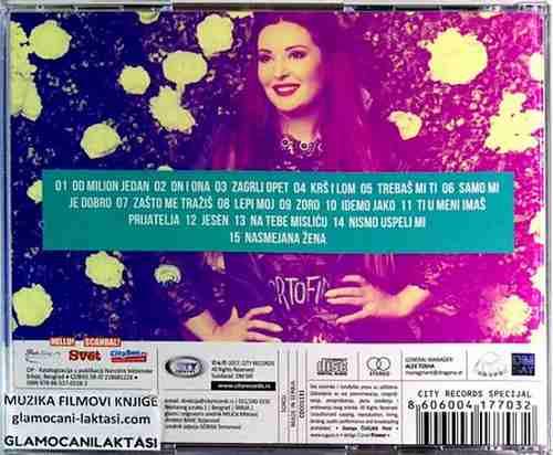 CD DRAGANA MIRKOVIC OD MILION JEDAN novo album 2016 narodna mirkovi? srbija folk