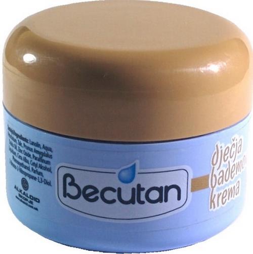 Original BECUTAN BABY CARE OINTMENT DJECIJA DECIJA BADEMOVA KREMA 50 ml