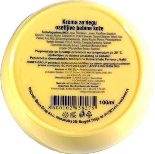ORIGINAL PAVLODERM BABY CREAM 300 ml sa pantenolom paraben and allergen free