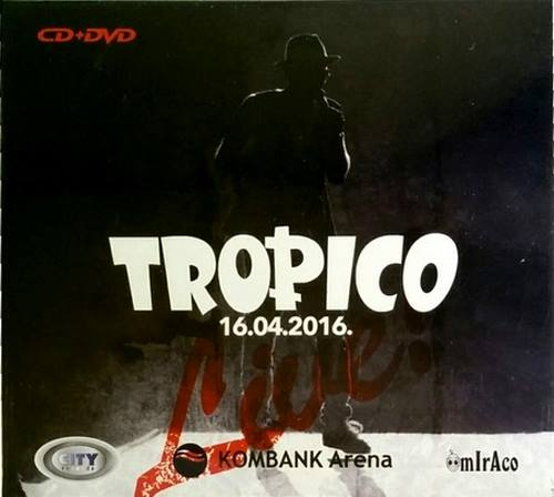 CD+DVD TROPICO 16.04.2016 KOMBANK ARENA city records zabavna muzika srbija pop