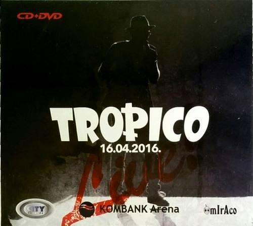 CD+DVD TROPICO 16.04.2016 KOMBANK ARENA city records zabavna muzika srbija 2017