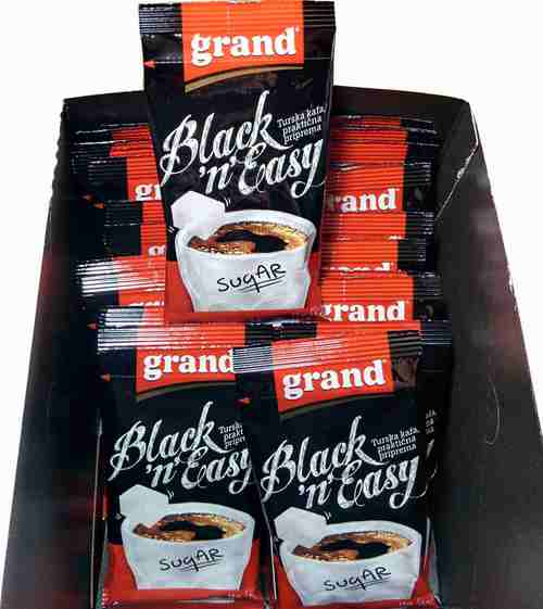 GRAND KAFA Black n Easy 70 kom instant crna kafa prakticna primena Turkish coffee